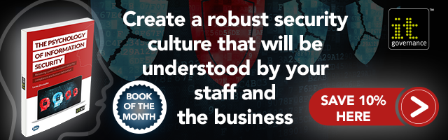 Create a robust security culture that will be understood by your staff and the business. Buy 'The Psychology of Information Security' today
