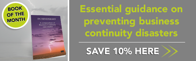 Essential guidance on preventing business continuity disasters. Save 10% here >>