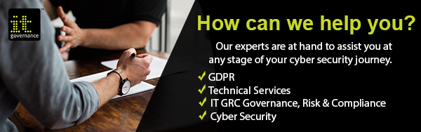 How IT Governance can help with your cyber security concerns