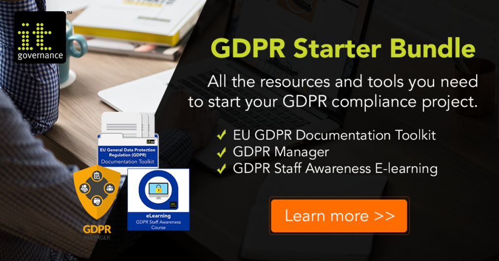 GDPR Starter Bundle- IT Governance