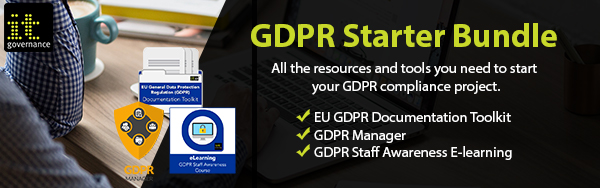 IT Governance GDPR Starter Bundle - All the resources and tools you need to start your GDPR compliance project.