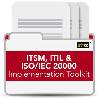 ITSM, ITIL & ISO/IEC 20000 Implementation Toolkitementation-toolkit