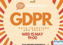IT Governance Europe to speak about the GDPR, and transfers post-Brexit at Refresh Boyne event