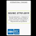 ISO/IEC 27701:2019 Standard