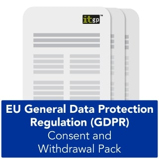 GDPR Consent and Withdrawal Templates