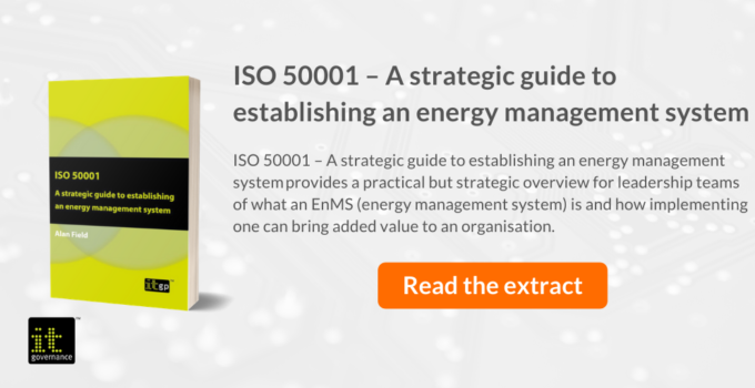 ISO 50001 – A strategic guide to establishing an energy management system