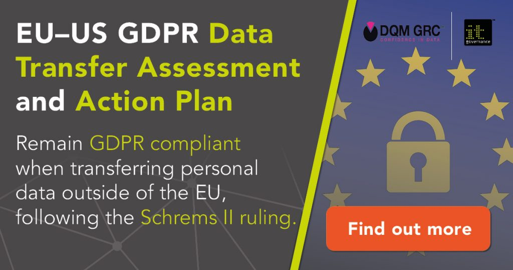 Remain GDPR compliant when transferring personal data outside of the EU -- find out more