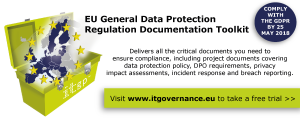 Critical documents needed for EU General Data Protection (GDPR) compliance