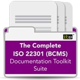 The Complete ISO22301 (BCMS) Toolkit Suite