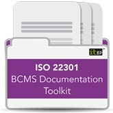 ISO22301 BCMS Documentation Toolkit