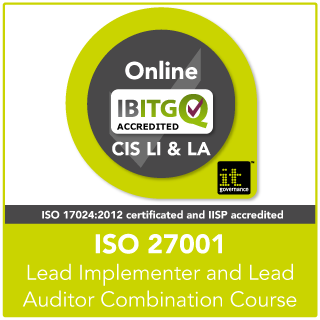 ISO27001 Lead Implementer and Lead Auditor Combination Online