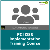 PCI DSS Implementation Training Course