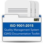 ISO 9001 2015 Quality Management System (QMS) Documentation Toolkit