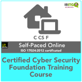 Certified Cyber Security Foundation Self-Paced Online Training Course