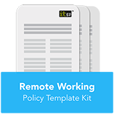 Remote Working Policy Template Kit