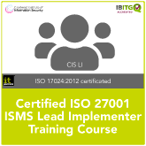 Certified ISO 27001 ISMS Lead Implementer Training Course