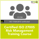 ISO 27005 Certified ISMS Risk Management