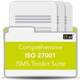 No 3 Comprehensive ISO27001 ISO 27001 ISMS Toolkit