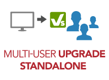 Upgrade to vsRisk™ Multi-User from vsRisk Standalone