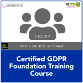 Certified GDPR Foundation Training Course