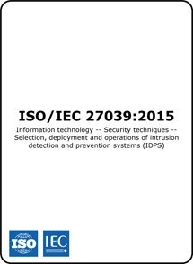 ISO/IEC 27039 2015 (ISO 27039 Standard) – Intrusion detection and prevention systems