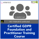 Certified EU General Data Protection Regulation (GDPR) Foundation and Practitioner Combination Course