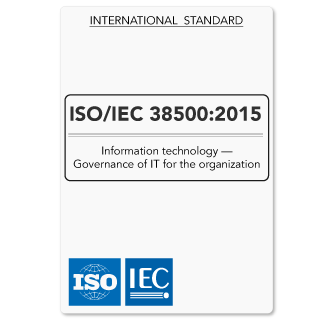 ISO38500 (ISO/IEC 38500) IT Governance Standard on Principles and Acceptable Use of IT (Hardcopy)