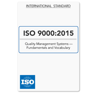 ISO9000 (ISO 9000) QMS - Fundamentals & Vocabulary (Download)
