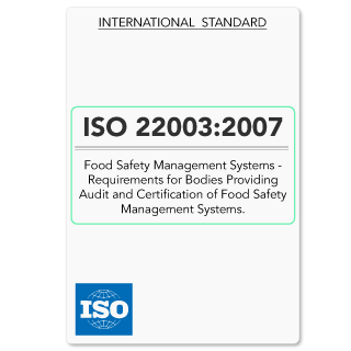 ISO22003 (ISO 22003) FSMS Requirements for Auditing Bodies (Hardcopy)