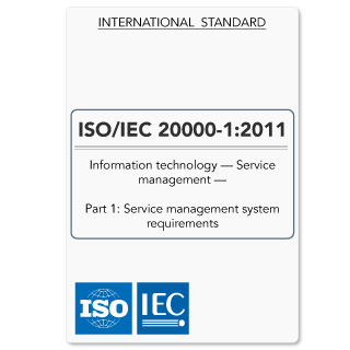 ISO20000-1 (ISO 20000-1) Service Provider Requirements (Hardcopy)