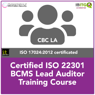 Certified ISO 22301 BCMS Lead Auditor Training Course