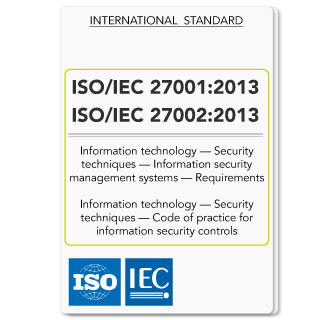 ISO IEC 27001 2013 and ISO IEC 27002 2013 standards