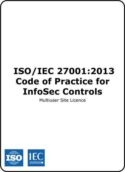 Multiuser Site Licence ISO/IEC 27002 2013 Code of Practice for InfoSec Controls