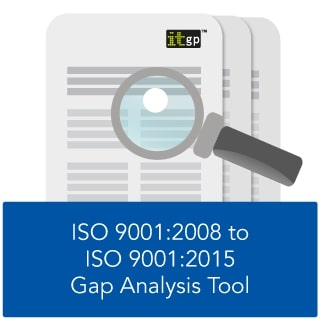 ISO9001 2008 to ISO 9001 2015 Gap Analysis Tool