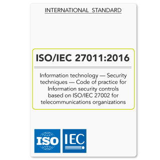 ISO/IEC 27011 2016 (ISO 27011 Standard) Information security for telecommunications organisations