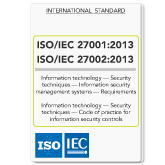 ISO/IEC 27001 2013 and ISO/IEC 27002 2013 Standards