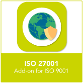 ISO27001 Add-on for ISO9001