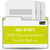 ISO 27001 ISMS Documentation Toolkit Bolt-on