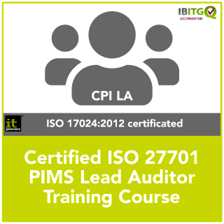 Certified ISO 27701 PIMS Lead Auditor Training Course