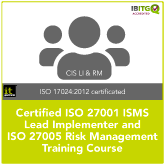 Certified ISO 27001 Lead Implementer and ISO 27005 Risk Management Combination Training Course