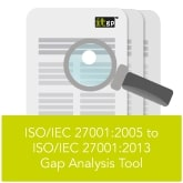 ISO 27001 2005 to 2013 Gap Analysis Tool