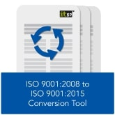ISO 9001 2008 to ISO 9001 2015 Conversion Tool