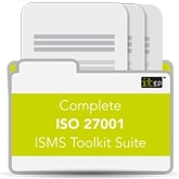 No 1 ISO 27001 ISO27001 Complete ISMS Toolkit