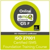 Certified ISO 27001 ISMS Foundation Live Online Training Course