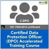 Certified Data Protection Officer (C-DPO) Accelerated Training Course