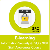 Information Security & ISO27001 Staff Awareness E-learning course