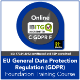 Certified GDPR Foundation Live Online Training Course