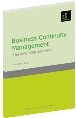 Business Continuity Management 9 Steps