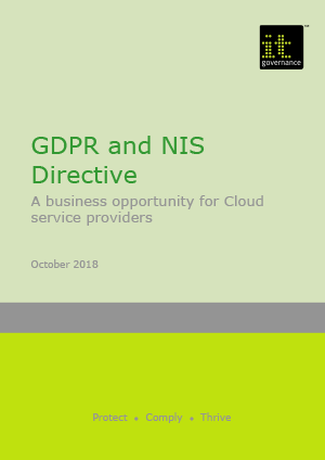GDPR and NIS Directive – A business opportunity for Cloud service providers