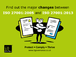 Find out the major changes in ISO27001:2013